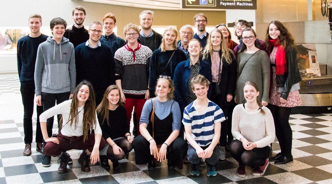 Talentholdets studietur til Riga